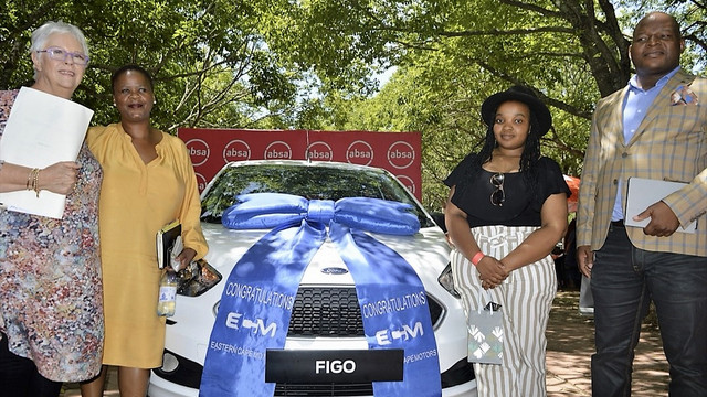 Rhodes University student wins car through Absa