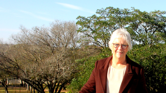 Professor Chrissie Boughey, recently retired DVC: Academic & Student Affairs
