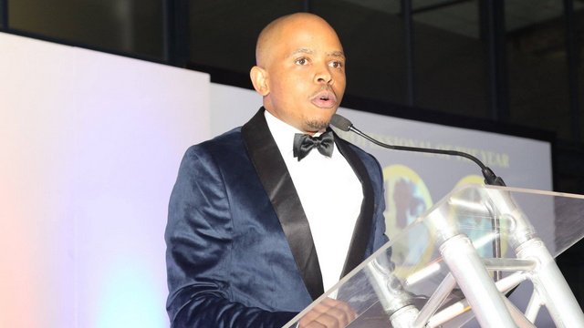 Young Professional Award winner, Cuma Dube