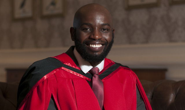 Rhodes University graduate, Dr Desire Chiwandire has realised his dream of completing a PhD.
