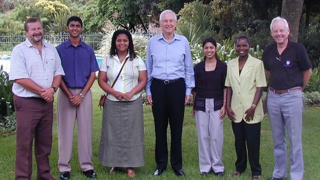 Dr Allan Gray's visit to Rhodes University in 2004