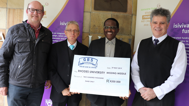 Vice Chancellor accepts R200 000 from GBS