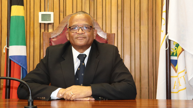Rhodes University's new Chairperson of Council, Judge Gerald Bloem.