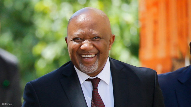 The guest speaker of the 6th Archbishop Thabo Makgoba Annual Lecture, Mr Mcebisi Jonas.