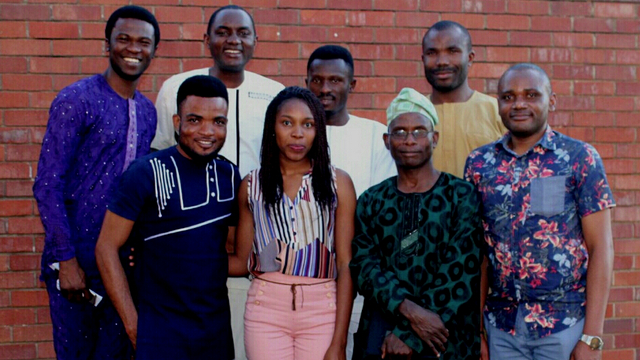Nigerians at Rhodes University meet with their Consul General