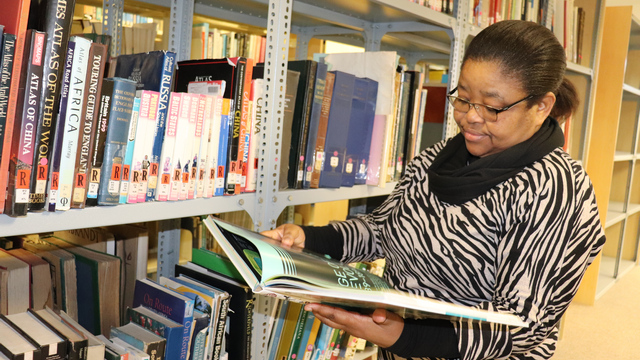 New Library Director, Nomawethu Danster