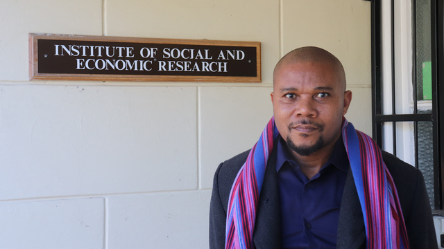 New broom: ISER's new Director, Professor Cyril Nhlanhla Mbatha