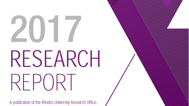 Rhodes University Research Report 2017