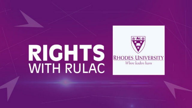 Rhodes University Law Clinic teaches people about their rights.