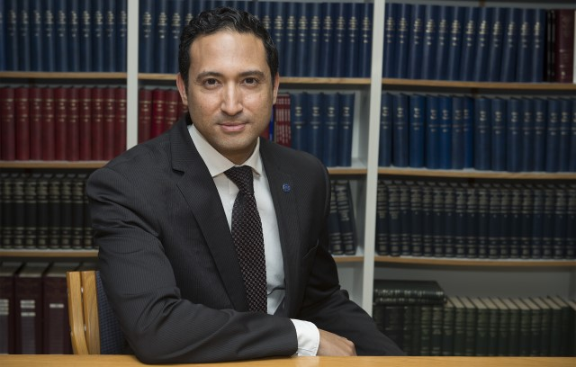 Advocate Shuaib Rahim, Senior Lecturer at Rhodes University's Law Faculty