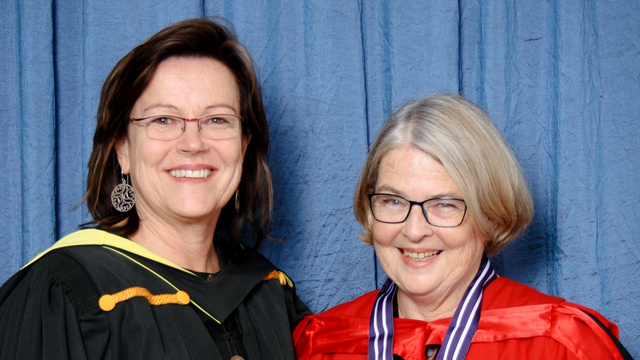 Di Hornby and Professor Tally Palmer