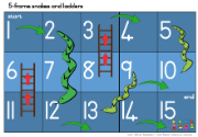 ENF 5 frame snakes and ladders image