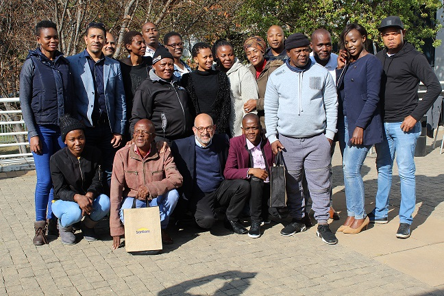 Participants of the Essentials of Print Media Managament short course .