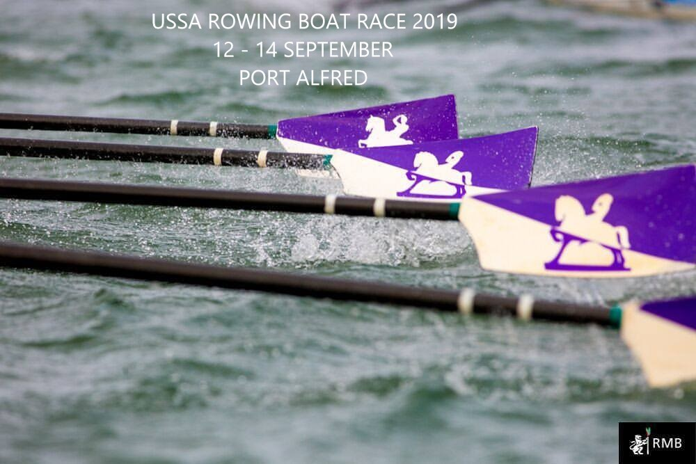 USSA ROWING BOAT RACE 12 - 14 SEPTEMBER